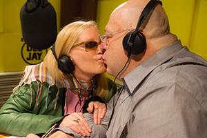 Un bacio tra amiche: Patty Pravo e Platinette