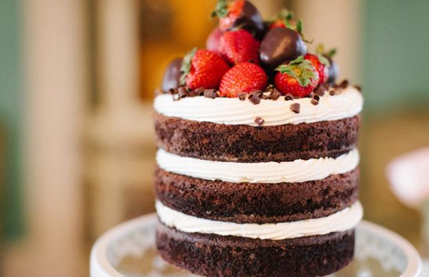 naked cake wedding
