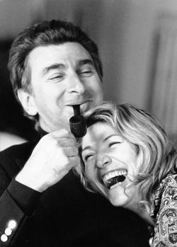 Renato Guttuso e Marta Marzotto