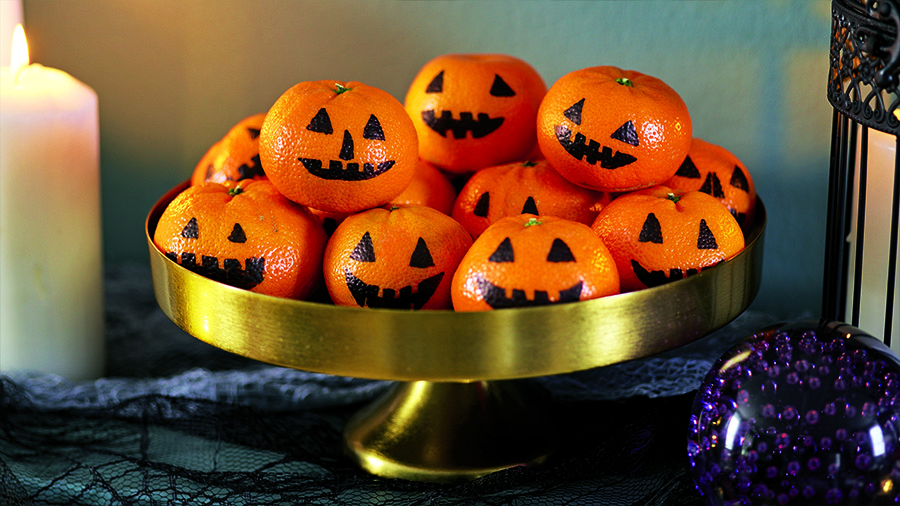 tangerine-pumpkin-halloween-decoration