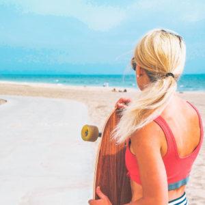Estate al mare con le travel size beauty