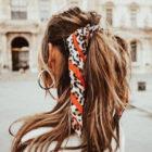Foulard hairstyle