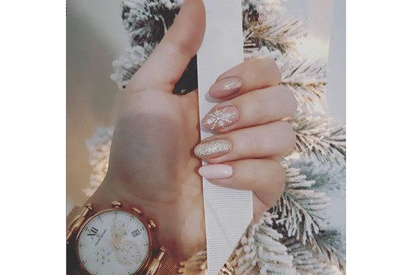 nail art di Natale
