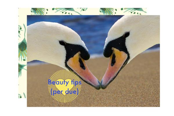 beauty tips di coppia
