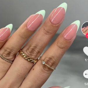 French Manicure su TikTok